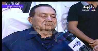 بالفيديو.. مبارك يخرج صمته ويتحدث