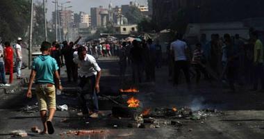 """اشتباكات بالحجارة بين أهالى ميدان المسلة وعناصر الإخوان بـ""""المطرية"""""""