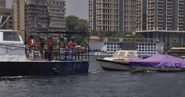 شرطة المسطحات المائية تضبط 6 قضايا إلقاء مخلفات بالنيل