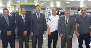 بالصور.. سفير مصر بالسودان يستقبل بعثة فريق الزمالك