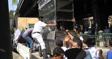 """محافظة القاهرة: حملات يومية لإزالة الإشغالات بالتنسيق مع """"المرافق"""""""