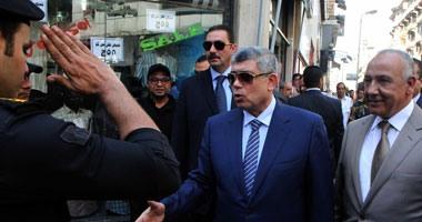 وزير الداخلية يفاجئ المنوفية بزيارة.. ويلتقى ضباط وأفراد المديرية