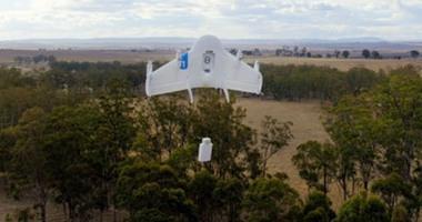 بالصور.. جوجل تكشف عن نموذج لطائرة بدون طيار لتوصيل الطلبات