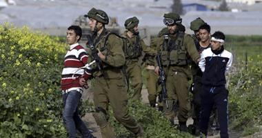 قوات الاحتلال الإسرائيلى تعتقل أربعة أطفال فلسطينيين بالضفة الغربية