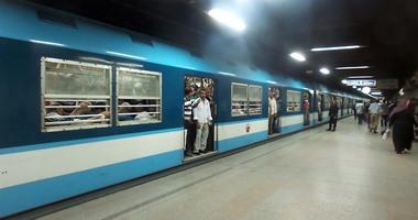 """""""المترو"""": تشغيل ثلاثة قطارات مكيفة جديدة بالخط الأول خلال شهرين"""