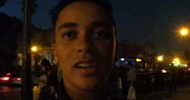 """بالفيديو..مواطن لمحافظ القاهرة:""""ياريت تهتموا بمزلقان عين شمس"""""""