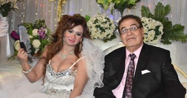 """بالصور.. زفاف الفنان """"سعيد طرابيك"""" و""""سارة طارق"""" بحضور نجوم الفن"""