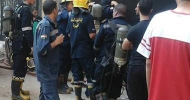 السيطرة على حريق داخل شقة سكنية فى حلمية الزيتون دون إصابات
