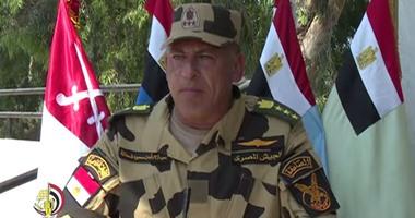 بالفيديو..قائد وحدات الصاعقة: سنضرب بكل قسوة من يحاول إفساد فرحة المصريين