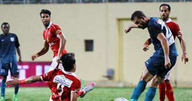 عمرو جمال وعبد الظاهر يقودان هجوم الأهلى أمام إنبى