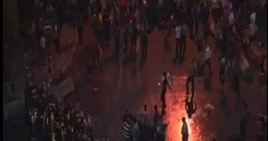 """اشتباكات بين الأمن والمتظاهرين فى بيروت وهتافات: """"الشعب يريد إسقاط النظام"""""""