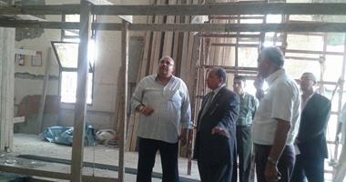 رئيس جامعة طنطا يفتتح الجراج الجديد بالجامعة