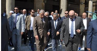 """""""وزير الآثار"""" : مشروع ترميم جامع الأزهر بتكلفة 30 مليون جنيه"""