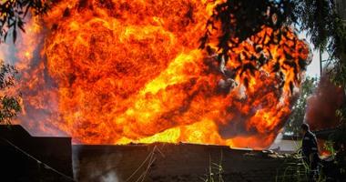 حريق أرشيفية
