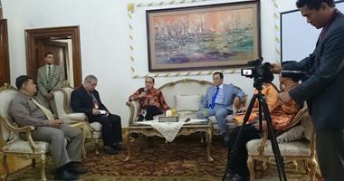 مبعوث الرئيس الإندونيسى: مشروع قناة السويس أظهر عزم المصريين