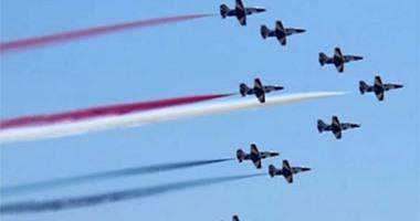 القوات المسلحة تنظم عروضا جوية وبحرية بمناسبة الذكرى الثالثة لثورة 30 يونيو