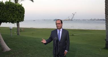 """هولاند: فرنسا لن تدفع غرامات على فسخ عقد سفن """"ميسترال"""""""