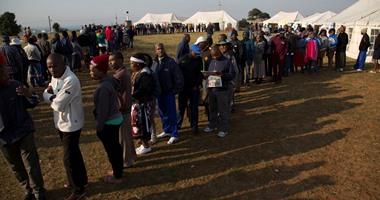 الحزب الحاكم فى جنوب أفريقيا يواجه تحديات فى الانتخابات