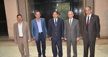 بالفيديو والصور.. محافظ الغربية يهنئ مساعد وزير الداخلية لوسط الدلتا على منصبه الجديد