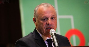 بالصور.. أبو ريدة: الهوارى نائبا.. وبرنامجى يهدف لتطوير الكرة وتأثيرها فى العالم
