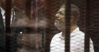 """بدء جلسة محاكمة مرسى وقيادات الإخوان فى قضية """"أحداث الاتحادية"""""""