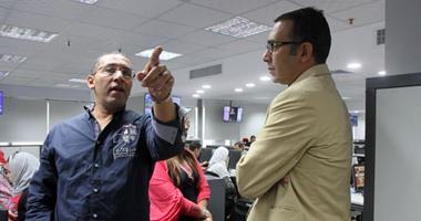 المدير الإقليمى لجوجل يزور  ويشيد بصالة التحرير الجديدة