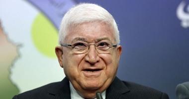 معصوم وكوبيش يؤكدان تعزيز الحراك السياسى العراقى للوصول إلى تفاهمات وطنية