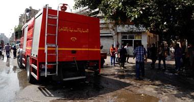 الإخوان يحرقون محل أعلاف يمتلكه مساعد شرطة ببنى سويف