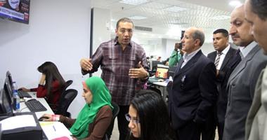 """بالصور.. وفد جريدة المدينة السعودية يزور المقر الجديد لـ""""اليوم السابع"""""""