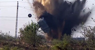"""""""بيت المقدس"""" الإرهابية تبث فيديو يعلن مسئوليتها عن تفجير مدرعة """"رفح"""""""