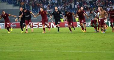 روما يسحق موسكو بخماسية فى دورى الأبطال