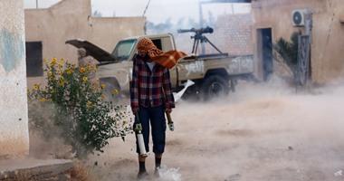 مقتل 19 من القوات الموالية للحكومة فى القتال الدائر شرقى ليبيا