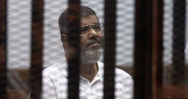"""الجنايات تستكمل اليوم محاكمة """"مرسى"""" بقضية الهروب من سجن وادى النطرون"""