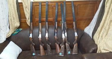 ضبط 42 قطعة سلاح خلال يوم واحد للحملات الأمنية بأسيوط