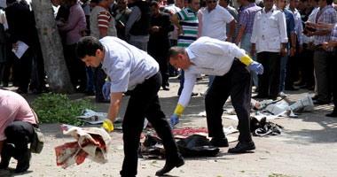 خروج اللواء محمد سرحان المصاب فى انفجار محيط وزارة الخارجية من المستشفى بعد جراحه دقيقه