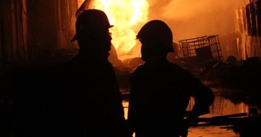 الحماية المدنية: انتهاء محاصرة النيران رغم صعوبة حريق مصنع المعادى