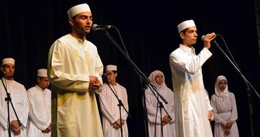 فرقة إنشاد دينى ومدائح نبوية بملتقى الحسين