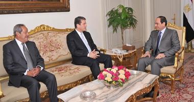 الرئيس السيسى يستقبل المدير العام لمنظمة التجارة العالمية