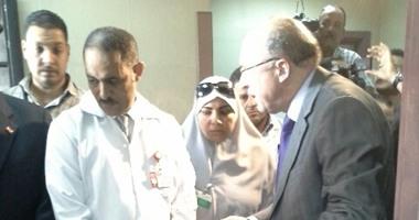 وزير الصحة يقوم بزيارة مفاجئة لمستشفى التأمين الصحى بمدينة نصر