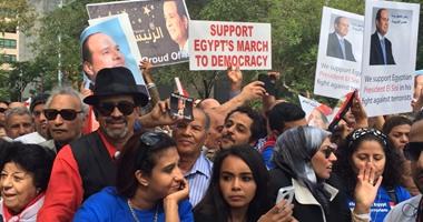 """الجالية المصرية بإيطاليا تنظم احتفالية لاستقبال """"السيسى"""" بروما"""