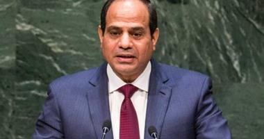 السيسى: مصر قادرة على التغلب على كل التحديات بالإرادة والصبر والثقة