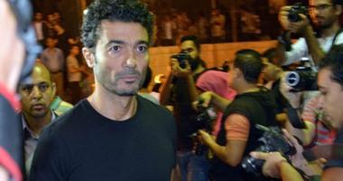 أشرف زكى: خالد النبوى كويس وهيطلع من المستشفى بكرة أو بعده بالكتير