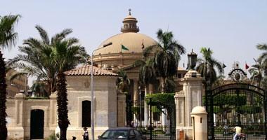 ضبط طالب حاول دخول جامعة القاهرة بعصا مكافحة شغب خاصة بالأمن المركزى