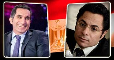 خالد أبوبكر بـ تويتر :باسم يوسف أهان السيسى وتهكم عليه بمطار نيويورك
