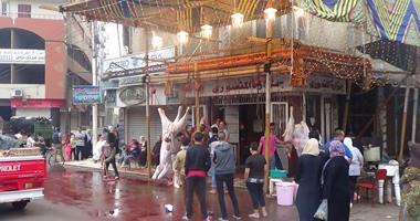 حملات بأسواق ومنافذ وشوادر اللحوم تأكيدا لسلامة المعروض خلال شهر رمضان