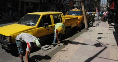 """""""الإسكان"""": انتهاء رفع كفاءة عدد من شوارع وسط المدينة خلال 10 أيام"""