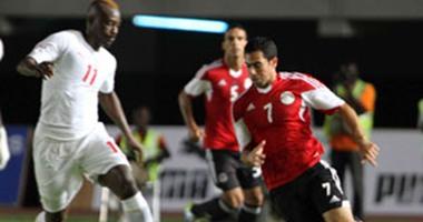 هزيمة المنتخب المصري بهدفين نظيفين امام السنغال - تصفيات امم افريقيا 2015