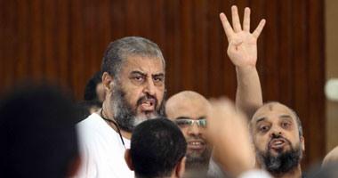 """تأجيل محاكمة المتهمين فى """"خلية أبناء الشاطر"""" لـ28 أغسطس"""