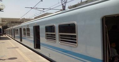 المترو يخفض سرعة قطارات الخطين الأول والثانى بسبب ارتفاع درجات الحرارة