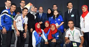 السيسى يطلق البرنامج الرئاسى لتأهيل الشباب للقيادة